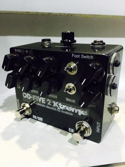 Ovaltone / OD-FIVE 2 Xtreme 佐々木秀尚さん使用エフェクター!