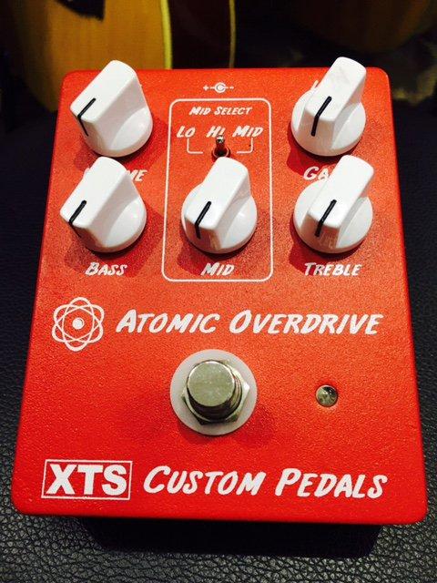 XTS / Atomic Overdrive MADE IN USAの新鋭エフェクターブランドXTS!