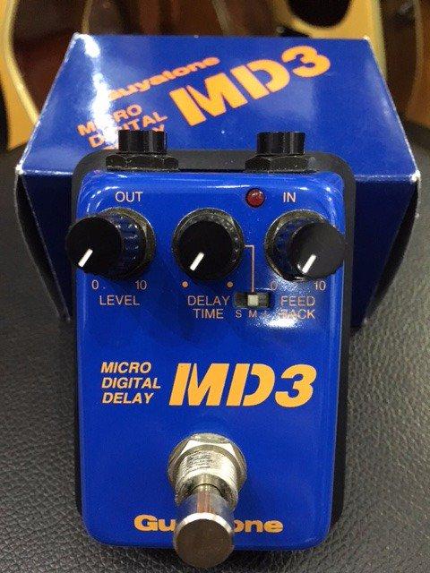 Guyatone / MD3 Micro Digital Delay 9mm Parabellum Bulletの滝善充さんが使用