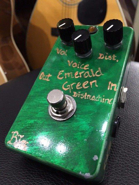 BJFE / Emerald Green Distortion Machine VOX系の歪み
