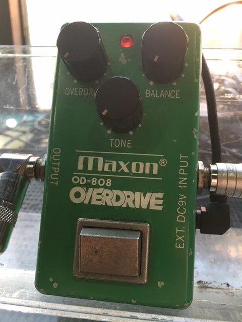 Maxon / OD-808 MC1458P搭載
