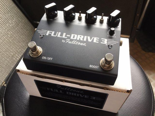 Fulltone / Full-Drive 3  人気を博したモデルの最新型!