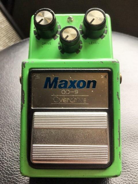 Maxon / OD-9 1983年製 TS系ながらも更に音抜け抜群!!