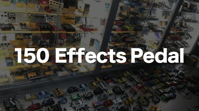 エフェフリ実験室「エフェクター150個チャレンジ」エフェクター150個直列で繋いだらどんな音がするのか?