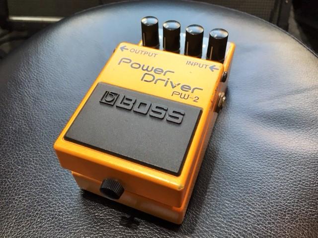 BOSS / PW-2 Power Driver 短命エフェクター