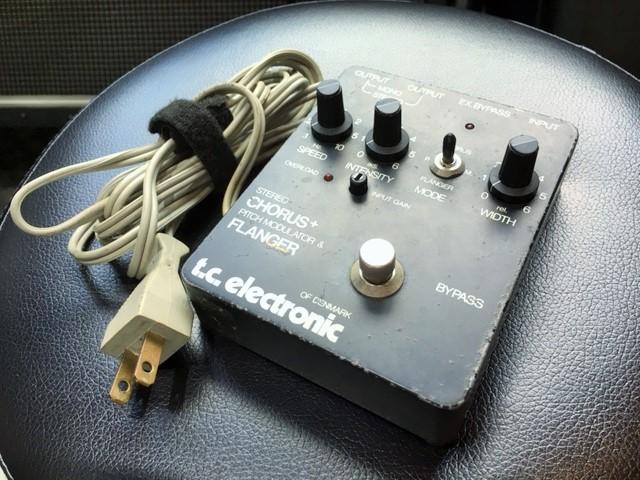t.c.electronic / Stereo Chorus + Pitch Modulator & Flanger SCF 1980年代製