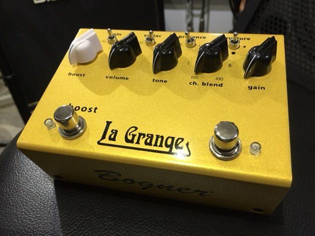 Bogner / La Grange ボグナーが作るプレキシ系ペダル