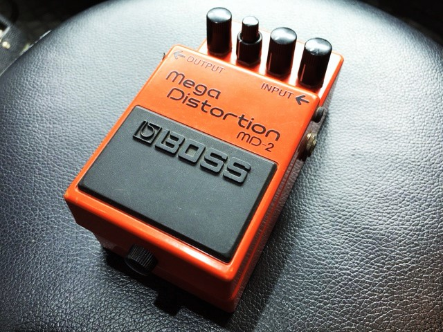 BOSS / MD-2 Mega Distortion 【隠れすぎた名機】