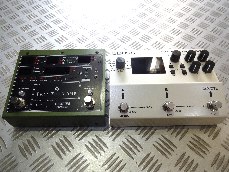 Free The Tone    VS BOSS 【ジャパンハイエンドディレイ対決】