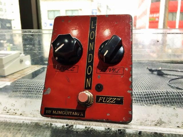 MJM Guitar FX London Fuzz初期型 【Cream時代のクラプトン、初期のジミヘンドリクス】