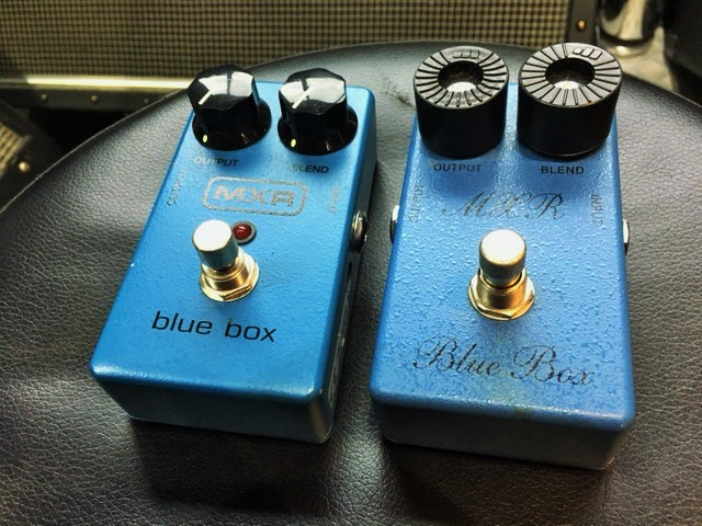 MXR / Blue Box script reissue  Led ZeppelinやSonic Youthの楽曲の中でも使用!